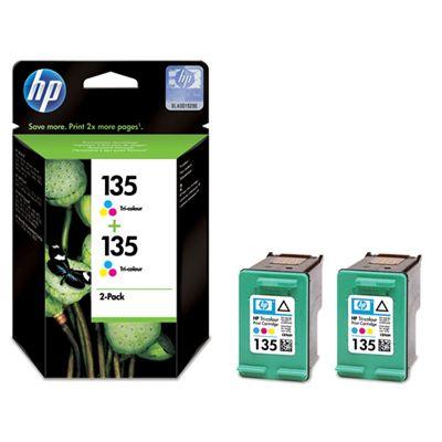 Картридж HP 135 набор 2 шт Cyan/Magenta/Yellow - Голубой/Пурпурный/Желтый (CB332HE)