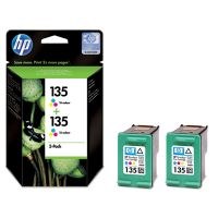 ��������� �������� HP 135 Tri-colour Inkjet Print Cartridge 2-pack CB332HE