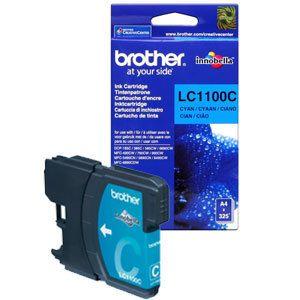Картридж Brother Cyan/Голубой (LC1100C)