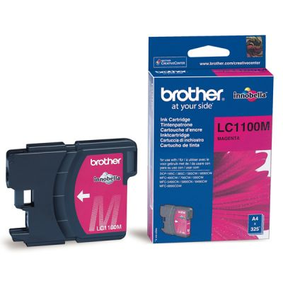 ��������� �������� Brother �������� brother ������� (magenta) LC1100M