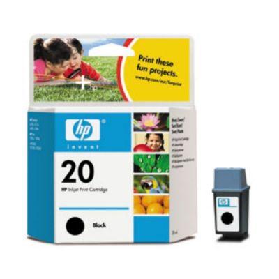 Картридж HP Black/Черный (C6614DE)