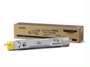 Расходный материал Xerox Phaser 6300/6350 Тонер-картридж желтый 4К 106R01075