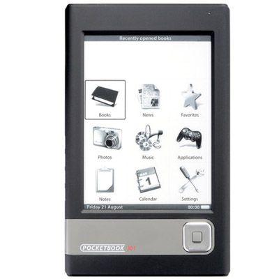 Электронная книга PocketBook 301 Plus Комфорт Black sd 2GB