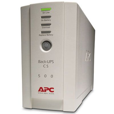 ИБП APC Back-UPS cs 500VA/300W 230V Interface Port DB-9 RS-232 USB BK500EI