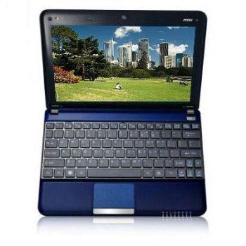 Ноутбук MSI Wind U135DX-1493 Blue
