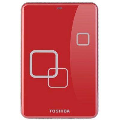 "Внешний жесткий диск Toshiba StorE Art 3 2.5"" 500Gb Red E05A050PAU2ER_C"