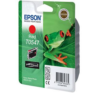 ��������� �������� Epson �������� (C13T05474010) epson ��� Stylus Photo R800/R1800 (red) C13T05474010