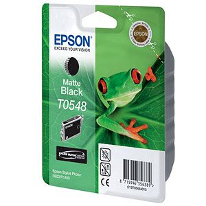 ��������� �������� Epson �������� (C13T05484010) epson ��� Stylus Photo R800/R1800 (matte black) C13T05484010