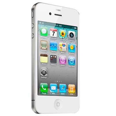 Смартфон, Apple iPhone 4 32Gb (белый)
