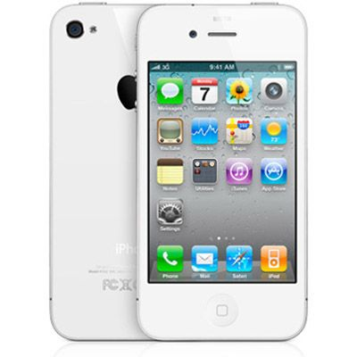 Смартфон, Apple iPhone 4 16Gb (белый)