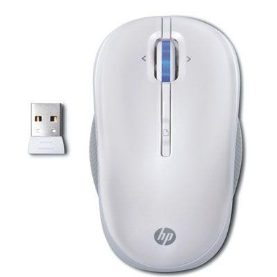 Мышь беспроводная HP оптическая (Pearl) WX408AA