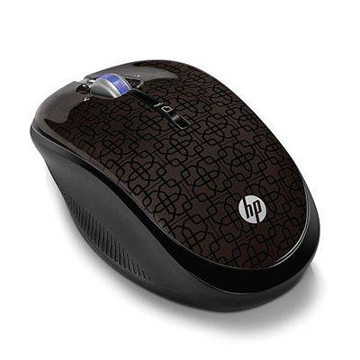 Мышь беспроводная HP оптическая (Black Cherry) WX407AA