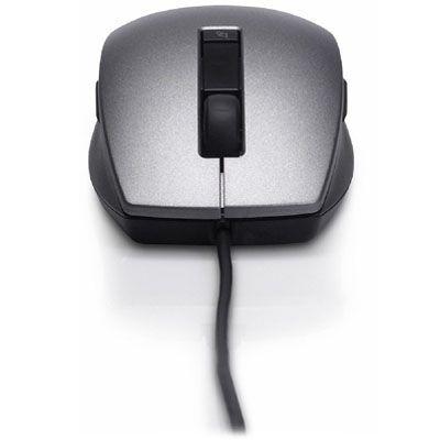 Мышь проводная Dell Laser USB (6 buttons scroll) Black F994G