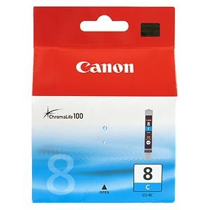 Расходный материал Canon Картридж чернильный Canon CLI-8C 0621B024