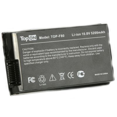Аккумулятор TopON для Asus A8 A8000, F, Z, X, N Series 4400mAh TOP-F80