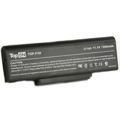 Аккумулятор TopON для Asus M51 F2 F3 A9 Z53 K72 N71 Series, RoverBook 6600mAh TOP-F3H / 90-NIA1B1000