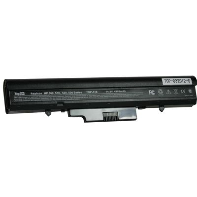 Аккумулятор TopON для HP Compaq 510, 530 Series 4400mAh TOP-510