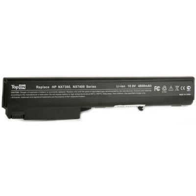 Аккумулятор TopON для HP Compaq nx7300 nx7400 nx8220 nc8230 nx8420 nc8430 8510p nx9420 Series 4800mAh TOP-NX7400 / HSTNN-DB11