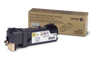 Тонер-картридж Xerox Yellow/Желтый (106R01458)