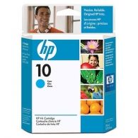 Расходный материал HP 10 Cyan Ink Cartridge C4841AE