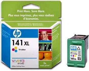Картридж HP 141XL Cyan/Magenta/Yellow - Голубой/Пурпурный/Желтый (CB338HE)