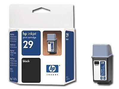 Картридж HP 29 Large Black/Черный (51629AE)