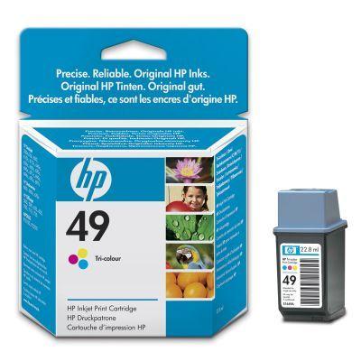 Расходный материал HP HP 49 Large Tri-Colour Inkjet Print Cartridge 51649AE