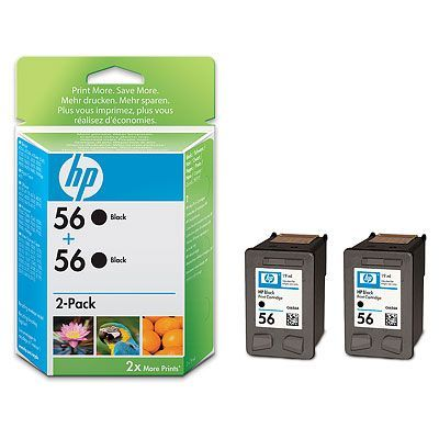 �������� HP 56 Black/������ (C9502AE)