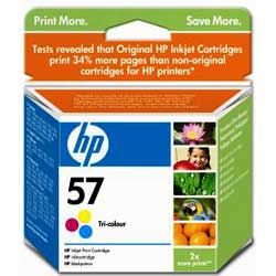 ��������� �������� HP HP 57 Tri-Colour Inkjet Print Cartridge C6657AE