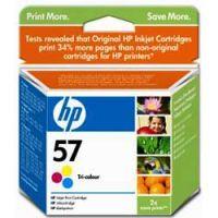 Картридж HP 57 Cyan / Magenta / Yellow - Голубой / Пурпурный / Желтый (C6657AE)