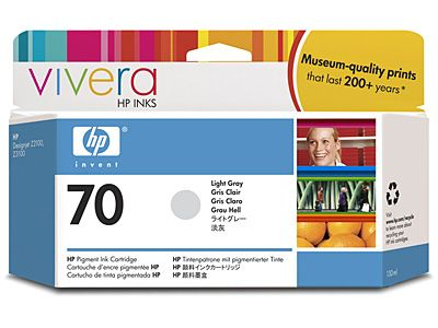 Картридж HP 70 Light Gray/Светло-серый (C9451A)