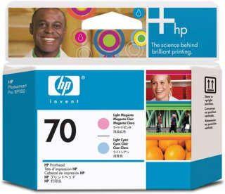 Расходный материал HP HP 70 Light Magenta and Light Cyan Printhead C9405A