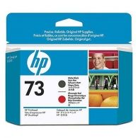 Расходный материал HP HP 73 Matte Black and Chromatic Red Printhead CD949A