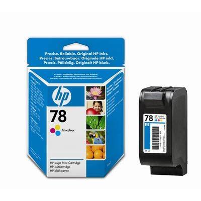 �������� HP 78 Cyan / Magenta / Yellow - ���������� - ������� / ��������� / ������ (C6578DE)