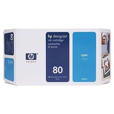 Картридж HP 80 Cyan/Голубой (C4872A)