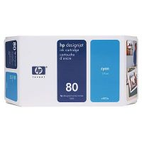 Картридж HP 80 Cyan /Зеленовато - голубой (C4872A)