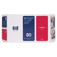 ��������� �������� HP HP 80 175-ml Magenta Ink Cartridge C4874A