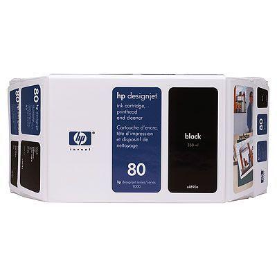 Картридж HP 80 Black/Черный (C4871A)