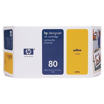 ��������� �������� HP HP 80 350-ml Yellow Ink Cartridge C4848A