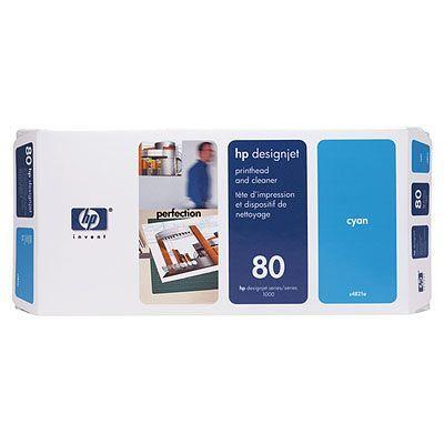 HP 80 Печатающая головка Cyan /Зеленовато - голубой (C4821A)