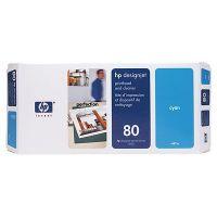 HP 80 ���������� ������� Cyan /���������� - ������� (C4821A)