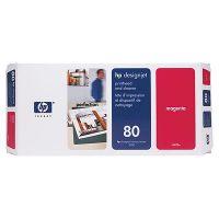 HP 80 ���������� ������� Magenta/��������� (C4822A)