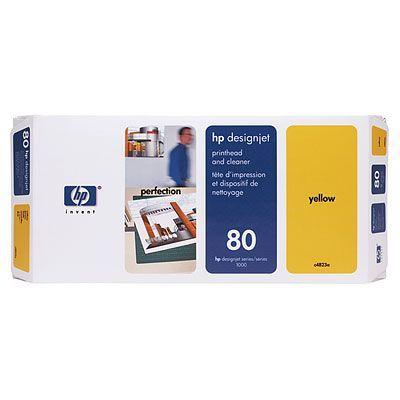 HP Печатающая головка 80 Yellow/Желтый (C4823A)