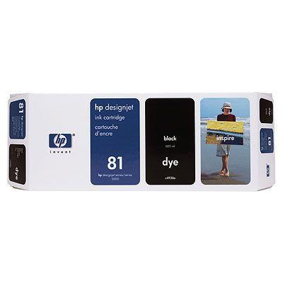 ��������� �������� HP HP 81 3-pack 680-ml Black Dye Cartridges C4930A