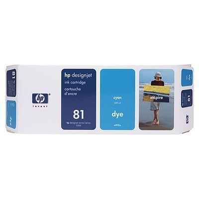 ��������� �������� HP HP 81 680-ml Cyan Dye Ink Cartridge C4931A
