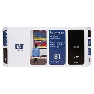 ��������� �������� HP HP 81 Black Dye Printhead and Printhead Cleaner C4950A