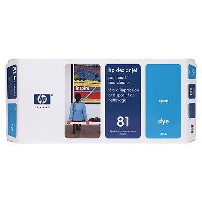HP 81 Печатающая головка Cyan /Зеленовато - голубой (C4951A)