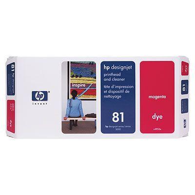 HP 81 Печатающая головка Magenta/Пурпурный (C4952A)