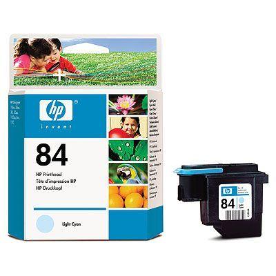 Картридж HP 84 Light Cyan/Светло/голубой (C5020A)