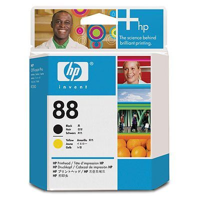 ��������� �������� HP HP 88 Black and Yellow Officejet Printhead C9381A